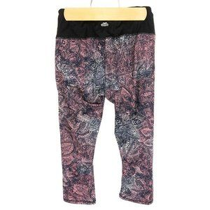 (Y3-04) Maurices Small Floral Pants In Motion Yoga